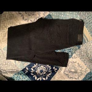 American eagle black skinny jeans